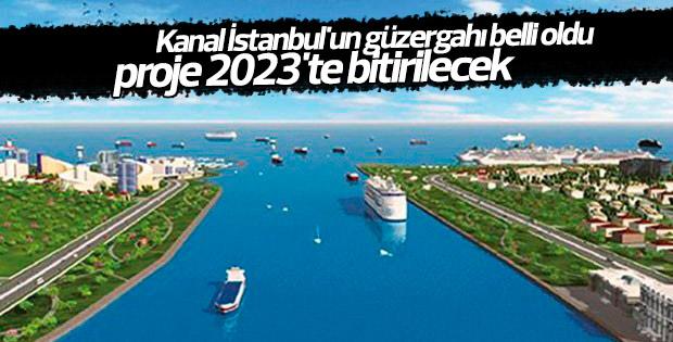 Kanal İstanbul güzergahı belli oldu