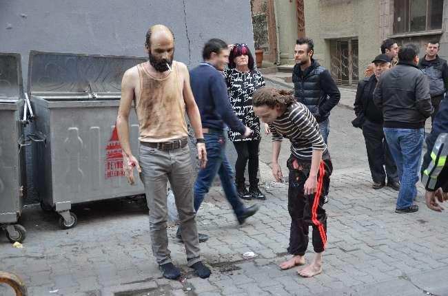 Taksim'deki patlamada en ilgi çeken kare