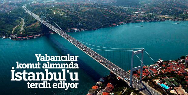 Yabancılar İstanbul'dan konut alıyor