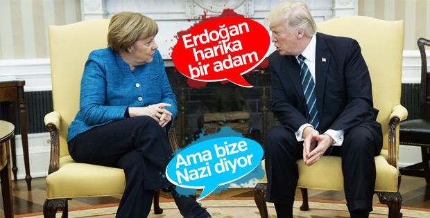 Merkel ve Trump, Erdoğan'ı konuşmuş