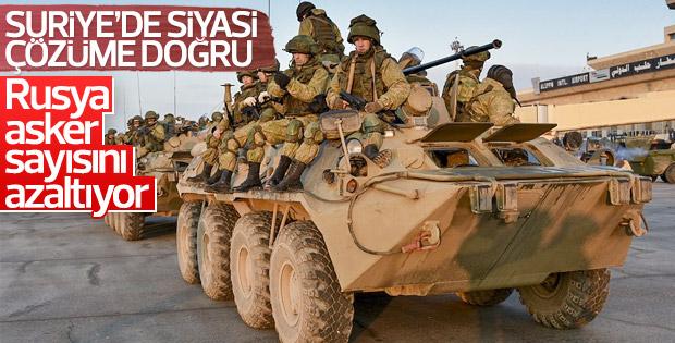Rusya Suriye'den çekilmeye başladı