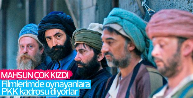 Mahsun Kırmızıgül PKK suçlamasına tepki gösterdi