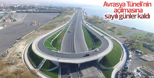 Avrasya Tüneli'nin açılmasına 10 gün kaldı