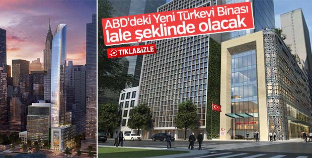 ABD'deki Yeni Türkevi Binası lale şeklinde olacak