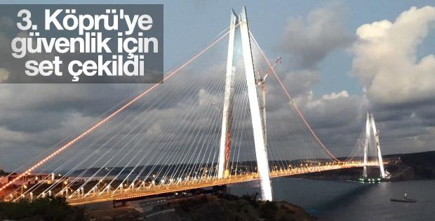 Yavuz Sultan Selim Köprüsü'nde güvenlik önlemi
