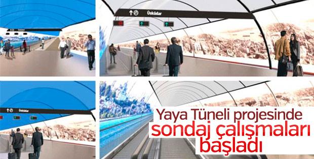 Yaya Tüneli Projesi'nde sondaj çalışmaları başladı