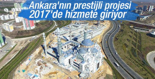 Ankara Kuzeykent Camisi 2017'de hizmete açılacak