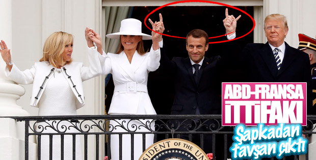 Trump ve Macron arasındaki yakınlaşma