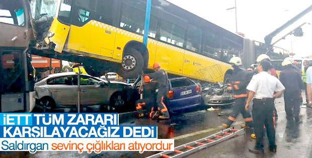 Metrobüs kazası sonrası Topbaş'tan talimat