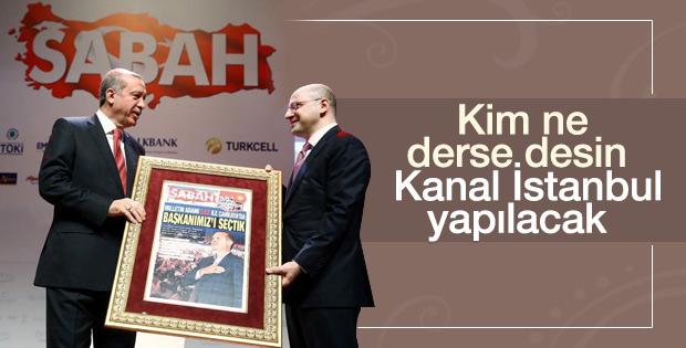 Serhat Albayrak'tan Cumhurbaşkanına sürpriz manşet