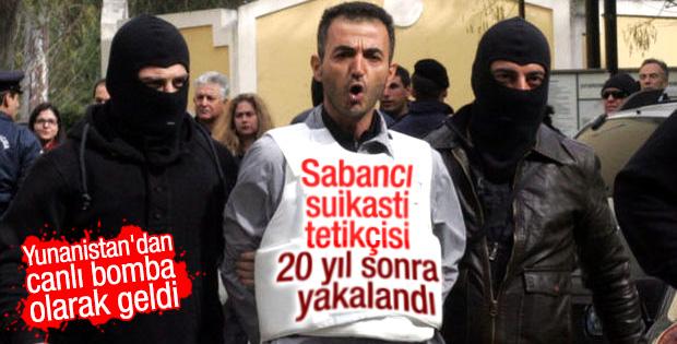 Sabancı suikasti zanlısı Aydın'da yakalandı