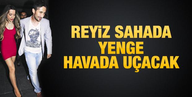 Sabri Sarıoğlu'nun eşi kaptan oluyor