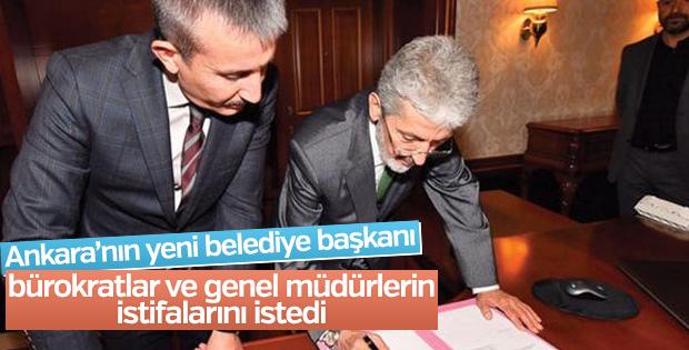 Ankara'nın yeni belediye başkanı hızlı başladı