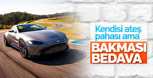 Aston Martin'den 'bakmakla yetineceğimiz' otomobil