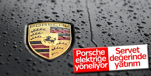 Porsche elektrikli motor için servet harcayacak