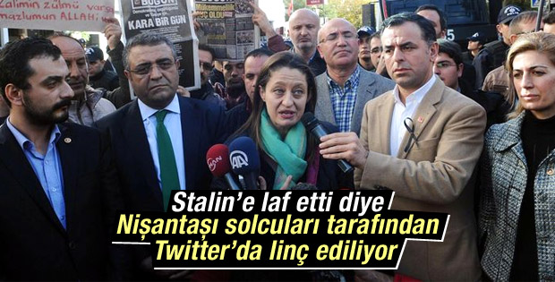Şafak Pavey'e sosyal medyada Stalin linci