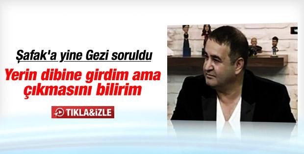 Şafak Sezer'den Gezi Parkı açıklaması: Yerin dibine girdim