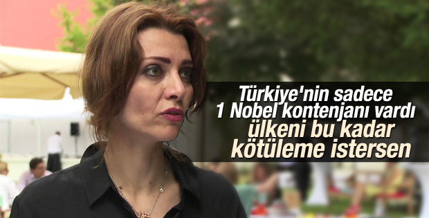Elif Şafak bu kez İsveç'ten Türkiye'yi eleştirdi
