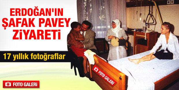 Erdoğan ile Şafak Pavey'in görüntüleri ortaya çıktı