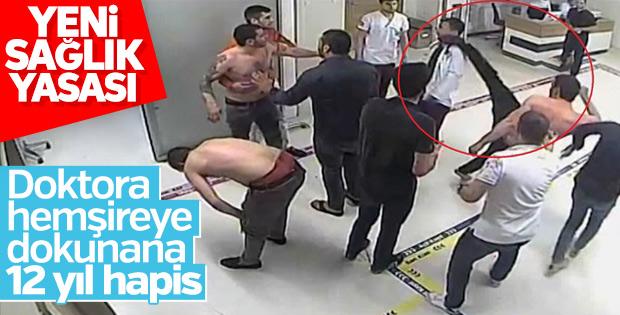 Sağlık çalışanlarına şiddet tutuklama sebebi sayılacak
