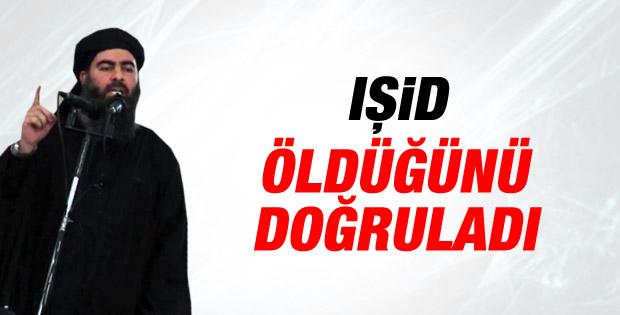 IŞİD lideri Bağdadi'nin öldüğü doğrulandı