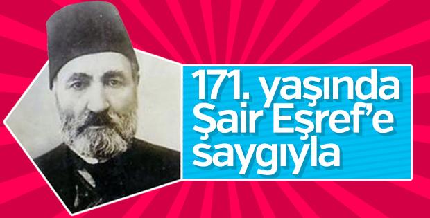 171. yaşında Şair Eşref'e saygıyla