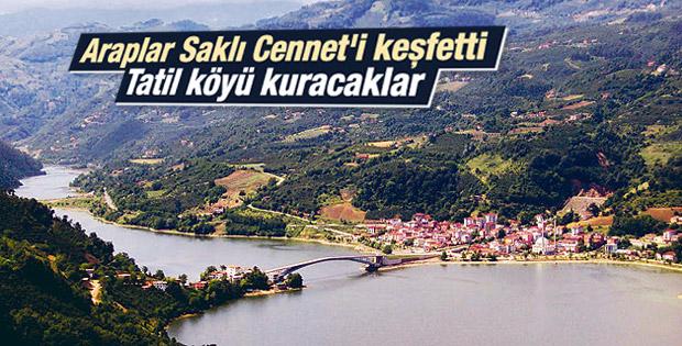 Araplar Karadeniz'e tatil köyü kuracak