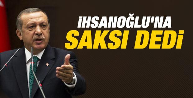Erdoğan: Bir vazo bir saksı seçmenin peşindeler İZLE
