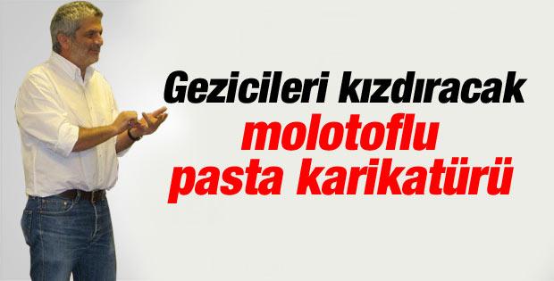 Salih Memecan'ın Gezi'nin yıldönümü karikatürü