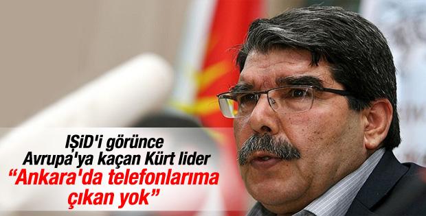 Salih Müslim: Türkiye telefonlarıma çıkmıyor
