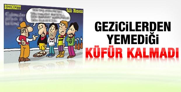 Salih Memecan'ın tepki çeken Gezi karikatürü