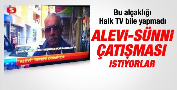 Samanyolu TV'de Alevi - Sünni kışkırtması