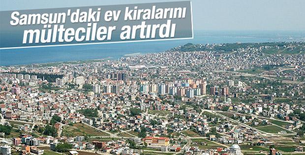 Samsun'daki ev kiralarında mülteci artışı