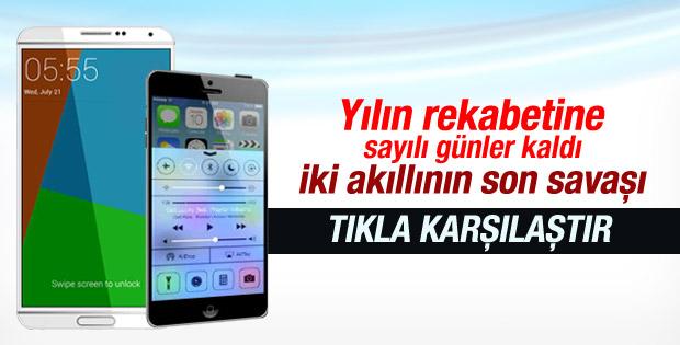 iPhone 6 mı Galaxy Note 4 mü