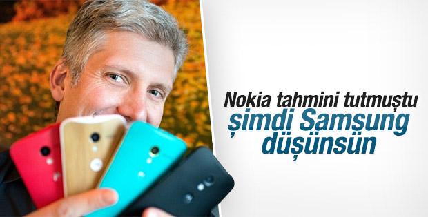 Motorola'nın Samsung kehaneti