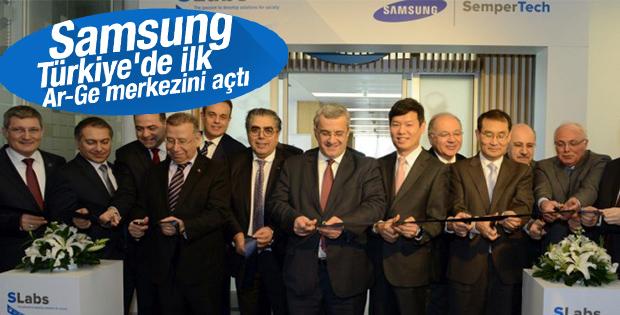 Samsung Türkiye'deki ilk Ar-Ge merkezini açtı