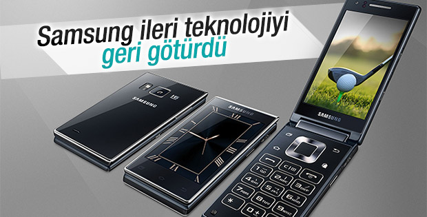 Samsung çift ekranlı kapaklı telefonunu tanıttı