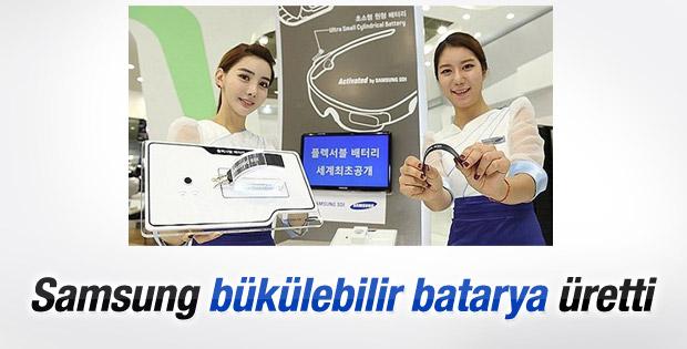 Samsung'dan dünyanın en esnek bataryası