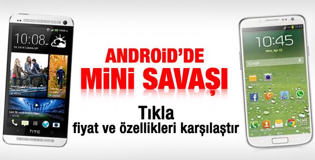 Samsung Galaxy S4 Mini mi HTC One Mini mi