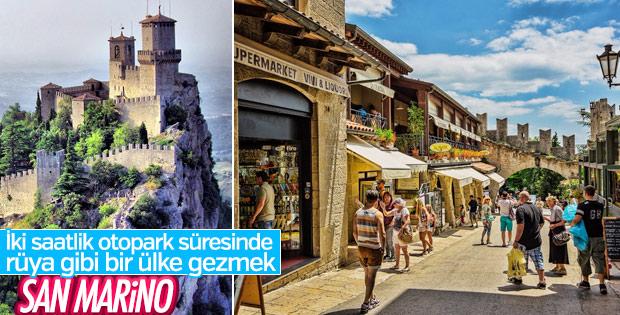 İtalya rotanı şaşırttık: Küçük San Marino