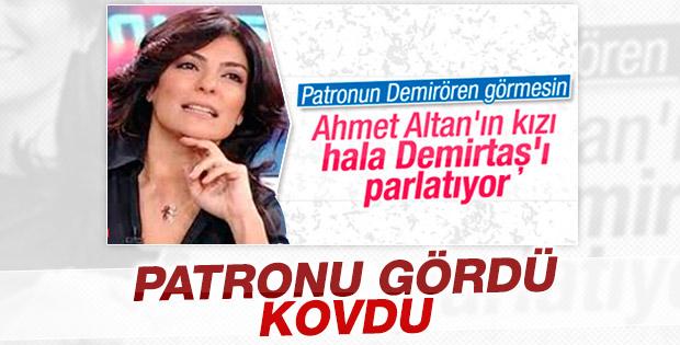 Vatan gazetesi Sanem Altan'ı kovdu