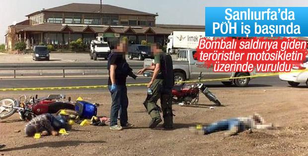 Viranşehir'de eylem hazırlığındaki 4 terörist öldürüldü