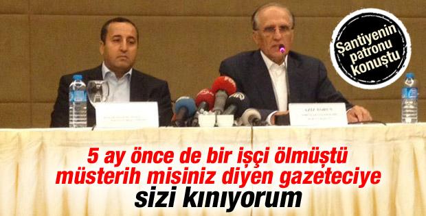 Mecidiyeköy'deki şantiyenin patronu konuştu İZLE
