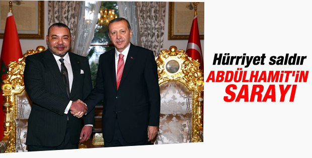 Cumhurbaşkanı Erdoğan Fas Kralı ile bir araya geldi