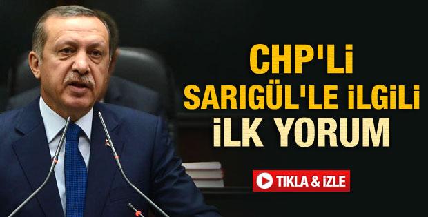 Başbakan'dan CHP'ye Sarıgül eleştirisi - izle