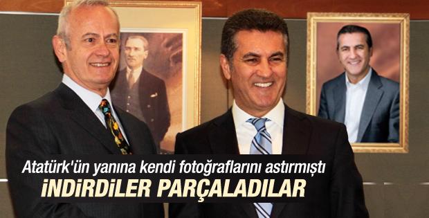 Mustafa Sarıgül'ün fotoğrafları belediyeden kaldırıldı