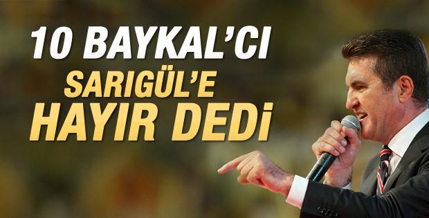 CHP Parti Meclisi'nden Sarıgül'e onay çıktı
