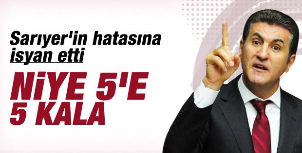 Mustafa Sarıgül: Niye beşe beş kala niye dörtde değil