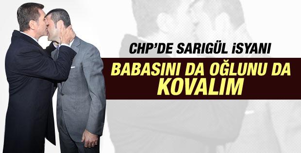 CHP'de isyan: Sarıgül'ü ve oğlunu ihraç edelim