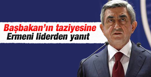 Sarkisyan: Türkler düşmanımız değil